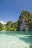 osamotniona Hong podpalana wyspa Fotografia Royalty Free