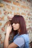 osamotniona i smutna dziewczyna Zdjęcie Stock