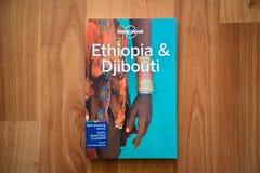 Osamotniona planeta Etiopia i Djibouti podróż przewodnik Obraz Royalty Free