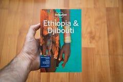 Osamotniona planeta Etiopia i Djibouti podróż przewodnik Obrazy Stock