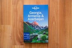 Osamotniona planeta Gruzja, podróż przewodnik, Armenia i Azerbejdżan Obraz Stock