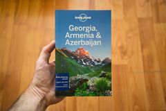 Osamotniona planeta Gruzja, podróż przewodnik, Armenia i Azerbejdżan Obrazy Royalty Free