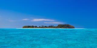 Osamotniona wyspa Fotografia Royalty Free