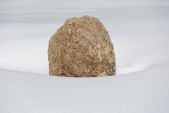Osamotniony kamień Obraz Royalty Free