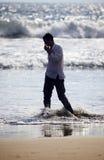 osamotniony mężczyzna Zdjęcia Stock