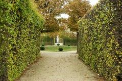Osamotniony park w jesieni Zdjęcia Stock