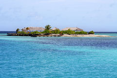 osamotniony wyspa raj Fotografia Royalty Free