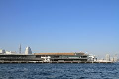Osanbashi-Pier in Yokohama Lizenzfreie Stockfotografie