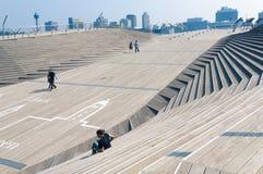 Osanbashi pier in Yokohama Stock Photos