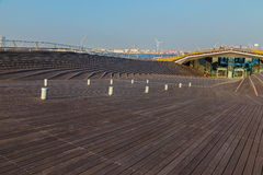 Osanbashi Pier - Yokohama International Passenger Terminal Royalty Free Stock Photo