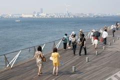 Osanbashi pier Royalty Free Stock Image