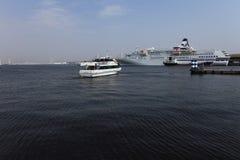 Osanbashi pier,Yokohama, Japan Royalty Free Stock Images