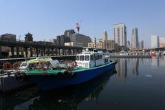 Osanbashi pier,Japan Stock Photo