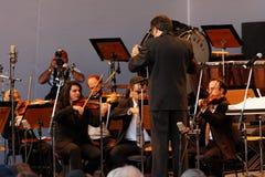 Osasco Orchestra in Campos do Jordao Brazil Royalty Free Stock Photos