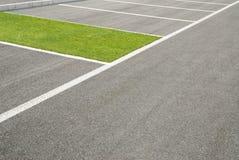Osasis en el estacionamiento Fotos de archivo libres de regalías