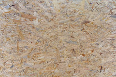 OSB board close-up Stock Photography