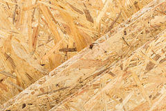 Osb boards Royalty Free Stock Photos