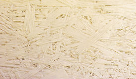 OSB Chipboard textured tło Obrazy Royalty Free