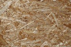 OSB-het blad wordt gemaakt van houten samengeperste spaanders royalty-vrije stock foto's