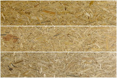 Osb Material Texture - Recycled Compressed Wood Chippings Board, Royalty Free Stock Images