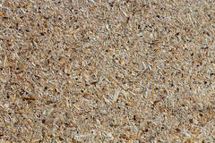 Osb - oriented strand board or qsb - quality strand board. Chipboard texture or chipboard background with copy space for text or image stock images