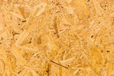 OSB  oriented strand board Stock Photography