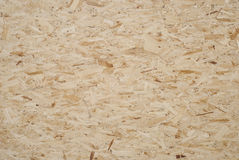 OSB plywood background Stock Image