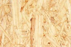 OSB-raad (Textuur) Stock Foto's