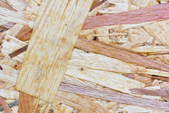 Osb seamless texture Royalty Free Stock Image