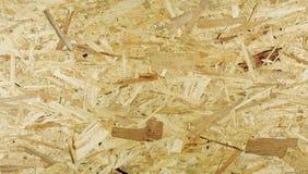OSB, textura do papel de parede, fundo natural de madeira Foto de Stock Royalty Free