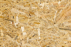 OSB. Texture background. Building. Royalty Free Stock Photography