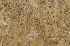 Osb texture yellow wood Royalty Free Stock Photo
