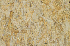 OSB vertical texture, backdroun. Yellow Royalty Free Stock Images