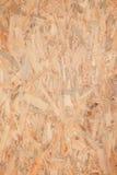Osb wood board Stock Image