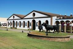 Osborne Bodega, Gr Puerto DE Santa Maria Royalty-vrije Stock Foto
