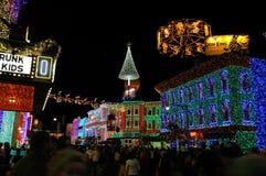 Osborne Christmas display at Walt Disney World stock photos