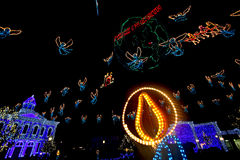 The Osborne Family Spectacle of Dancing Lights Royalty Free Stock Photos