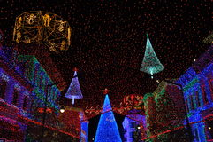The Osborne Family Spectacle of Dancing Lights at Disney Hollywo Royalty Free Stock Images