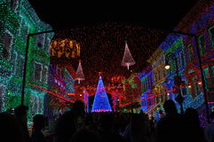 The Osborne Family Spectacle of Dancing Lights at Disney Hollywo Stock Images