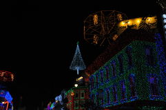 The Osborne Family Spectacle of Dancing Lights at Disney Hollywo Stock Photos