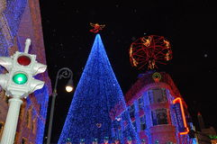 The Osborne Family Spectacle of Dancing Lights at Disney Hollywo Stock Photo
