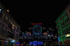 The Osborne Family Spectacle of Dancing Lights at Disney Hollywo Stock Photography