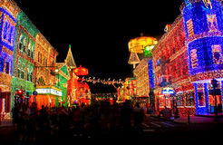 The Osborne Family Spectacle of Dancing Lights Royalty Free Stock Images