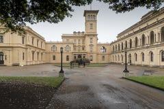 Osborne husö av wighten royaltyfri foto