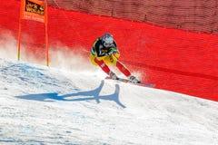 OSBORNE-PARADIS Manuel in Audi FIS Alpine Ski World Cup - Men's stock photography