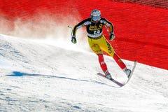 OSBORNE-PARADIS Manuel in Audi FIS Alpine Ski World Cup - Men's stock photos