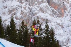 Osborne - Paradis Manuel. Val Gardena, Italy 19 December 2014. Osborne - Paradis Manuel (Can) competing in the Audi Fis Alpine Skiing World Cup Men's Downhill stock photo