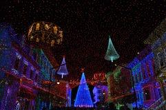 Osborne Rodzinny widowisko tanów światła przy Disney Hollywo Zdjęcia Stock