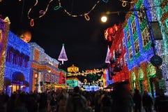 Osborne Rodzinny widowisko tanów światła przy Disney Hollywo Fotografia Royalty Free