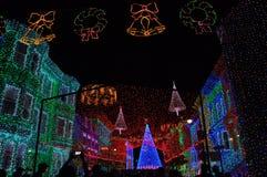 Osborne Rodzinny widowisko tanów światła przy Disney Hollywo Obraz Stock